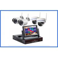 Quality Custom Wireless CCTV Camera Kits 4 Channel MP Indoor / Outdoor Cameras wholesale