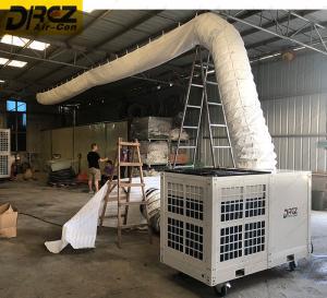 China Low Noise Ducting 48000 Btu Floor Model Air Conditioner Danfoss Compressor on sale