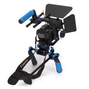 Quality Dslr rig movie kit with shoulder mount+Follow Focus+Matte Box+C Shape Support Cage wholesale