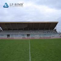 Cheap Prefab Curved Roof Stadium Bleachers Cover Steel Truss Roof Bleachers Canopy for sale