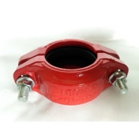 China ISO9001 Ductile Iron Fitting 75L DN50 Ductile Iron Pipe Clamp on sale
