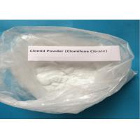 Quality 99% Purity Clomifene Citrate / Raw Hormone Powders White Crystalline CAS 50-41-9 wholesale