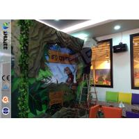 Cheap Stimulating Thriller 6D Movie Theater With Lightning / Rain Digital Special Effect for sale