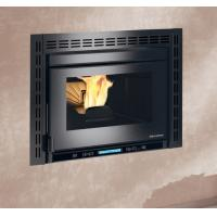 Quality Build In Pellet Stove Fireplace Insert , Wood Burning Insert Stoves With Boiler wholesale