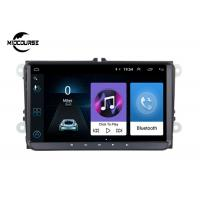 China Car Stereo Radio Volkswagen DVD Player 9 Inch Android 9.0 1024*600P Screen on sale
