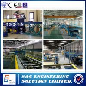 Quality 18 - 36m Double Belt Machine PU Sandwich Panel Production Line  For Wall & Roof wholesale
