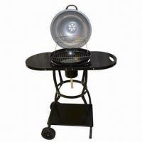 Quality Charcoal Barbecue Grill with 0.7mm Steel Plate Thickness, 40cm Diameter wholesale