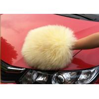 Quality Auto Detailing Tool Car Cleaning Mitt With 100% Australia Natural Wool wholesale