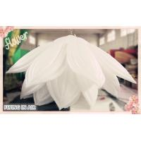 Quality 6m*3m White Inflatable Flower with Multiple Petals for Event Decoration wholesale