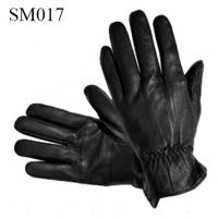 Quality Men sheep leather gloves high quality at cheap price SM017 men leather glove warm gloves wholesale