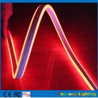 Quality 100m red mini led rope strip 110V 8.5*18mm 4.5w led double-sided flexible neon light wholesale