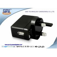 Quality One Port UK Plug universal travel adapter with usb port for MP3 MP4 Player wholesale