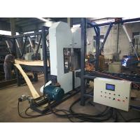 Quality Twin Heads Wood Cutting Band Saw Dual Woodworking Band Saw Double Vertical Band Saw mill machine wholesale
