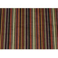 Quality Printing Stripe 100% Cotton Upholstery Fabric Corduroy For Shirt wholesale