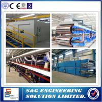 China 20MPA Roof Panel Roll Forming Machine , 70kw Polyurethane Sandwich Panel Producing Line on sale