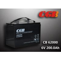 Quality CB62000 6v Deep Cycle Battery 200ah Power Energy Solar Wind Lead Acid Sealed Batteries wholesale