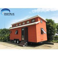 Quality Austrilia Standard Light Steel Prefabricated Tiny House On Wheels With WPC Board Wall wholesale
