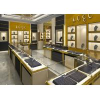 Buy cheap Stainless Steel Jewelry Showcase / Jewelry Wall Display Cases from wholesalers