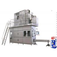 Quality Automated Beverage Filling Plant Brick Paper Carton Fruit Juice Filling Machine 500ml - 1000ml wholesale