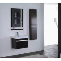 Quality Rectangle Type Hanging Bathroom vanity mirrored dark brown Color ISO2000 standard wholesale