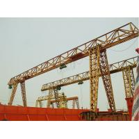 China Stainless Single Beam Gantry Crane 32m Lifting Height With Spreader 15 Ton CE Approved on sale