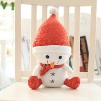 Quality Cute Santa Claus machine washable lifelong friends for kids Christmas gifts wholesale