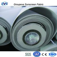 China 30% Polyester 70%Pvc Sunscreen Fabric for Solar Screen Window Roller Blinds and Shades on sale