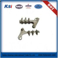 China Electric Power Line ACSR ADSS Fittings / Aluminium Alloy Wedge Type Strain Clamp on sale