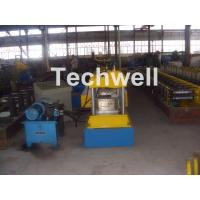 Quality 12-15m/min Forming Speed Box Beam Rack Roll Forming Machine for Upright Rack , Storage Shelf wholesale