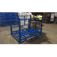 Quality Foldable Powder Coated Fabric Roll Storage Rack For Textile Industry wholesale
