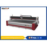 Quality 37KW CNC Water Jet cutting machine 1500*3000mm FDA for glass wholesale