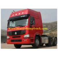 Buy cheap 6 cylinder Engine 6x4 Howo Tractor Truck with 400 Al fuel tank with warranty product