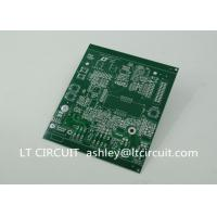 Quality Double Sided 3oz Blank Copper Pcb Board Immersion Silver Plating Green Solder Mask wholesale