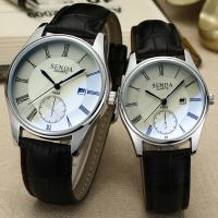 Quality Womens Ladies Simple Watches Leather Scratchproof Analog Quartz Couple Wrist Watch Clock Gift wholesale