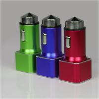 Quality Pocket Universal USB Car Charger 5V 3.4A With Dual USB High Efficiency wholesale