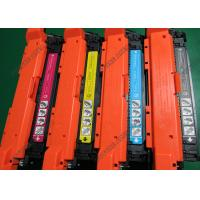 China Yield 5000 Compatible Color Toner Cartridges Yellow For HP CE250A CE251A on sale