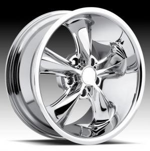 China Fine finishing Chrome Car alloy wheels on sale