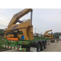 Quality Self Loading Truck Mounted Crane 3 Axle Container For Transportation wholesale