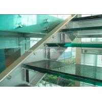 China Double Glazed Window Laminated Safety Glass Panels 4.38mm Annealed Security on sale