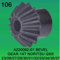 Quality BEVEL GEAR TEETH-14 FOR NORITSU qss2301,2601,2701,2901,3001,3101,3201,3300,3401,3501,3701 minilab part no A220062-01 wholesale