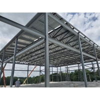 China Heavy Duty Q345B H Beams Fabricated Steel Structure For Workshop on sale