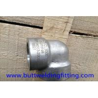 China 90 Degree Super Duplex Stainless Steel Forged Elbow 3000LB DN25 UNS S32750 on sale
