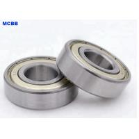 China 6205ZZ Radial Deep Groove Ball Bearing Two Metal Shield Enclosed on sale