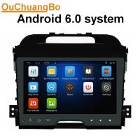 Quality Ouchuangbo car gps navi audio stereo android 6.0 for Kia Sportage 2010-2012 with MP3 MP4 SWC music microphone DDR3 1GB wholesale