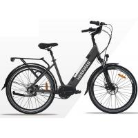 Quality Lithium Battery 26 Inch City Electric Bicycle / E - bike With Rear Motor For Adults wholesale