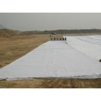Buy cheap White Road Construction Non Woven Geotextile Reinforcement 200GSM product