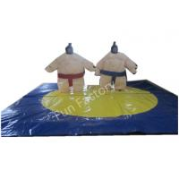 Quality Blue Inflatable Figures Inflatable Sumo Suits Sports Playground wholesale