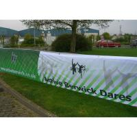 Quality Eco-Solvent Ink Large Mesh Banners, PVC Mesh Banner With Printable Surface wholesale
