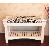 Quality Korea stely wooden bench for chang shoes wholesale