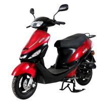 Quality Brushless Gas Powered Scooters , Popular Gas Powered Moped 50cc 4 Stroke wholesale